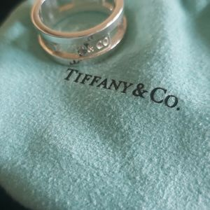 Tiffany & Co 1837 wide band ring